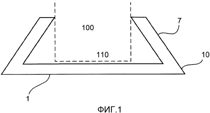 Защитное основание для единицы груза, в частности для секций бетонной башни