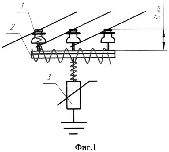 Способ ограничения тока однофазного замыкания на землю для воздушной линии электропередачи в сети с изолированной нейтралью