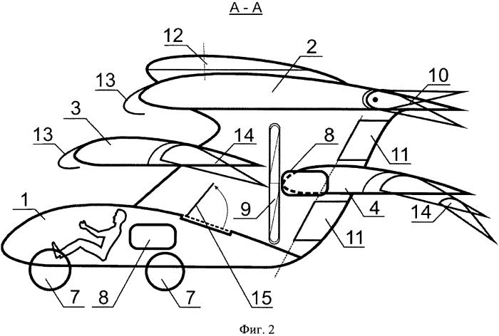 Способ организации средств передвижения по воздуху и земле, устройство для передвижения по воздуху и земле