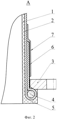 Пространственно-изогнутый газовод фланцевого присоединения из композиционных материалов и способ его изготовления