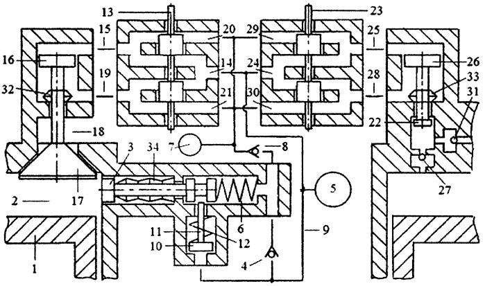 Способ реверсирования вращения коленчатого вала двигателя внутреннего сгорания реверсивным стартерным механизмом и системой пневматического привода газораспределительного клапана с зарядкой пневмоаккумулятора системы газом из компенсационного пневмоаккумулятора