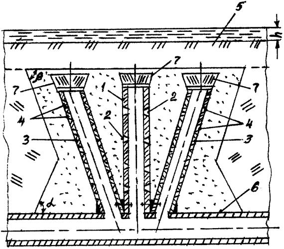 Дренажное устройство слабопроницаемого грунта