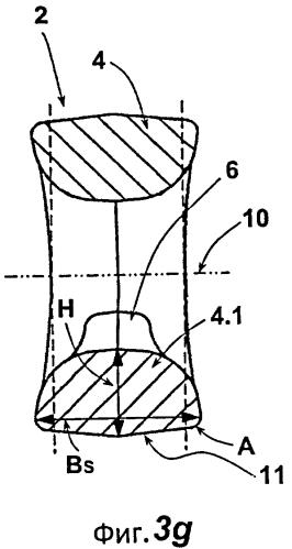 Плоское звено цепи для звеньевой цепи, а также стальная цепь с такого рода звеньями