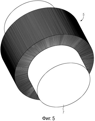 Радиальный магнитный подшипник, имеющий радиально шихтованный ротор