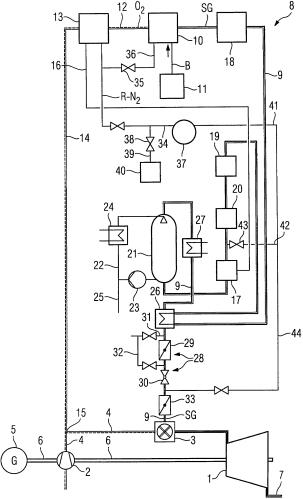 Топливная система газопаротурбинной установки и способ ее промывки