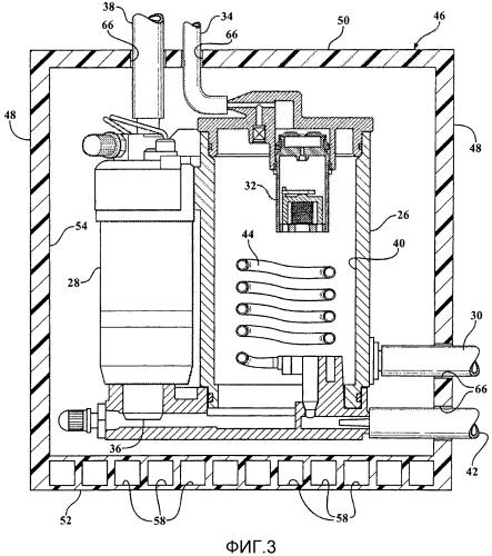 Устойчивая к утечке судовая система подачи топлива (варианты) и морское судно