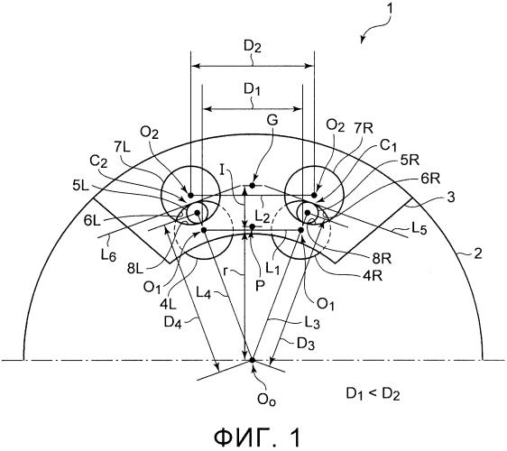 Демпферное устройство для гашения крутильных колебаний
