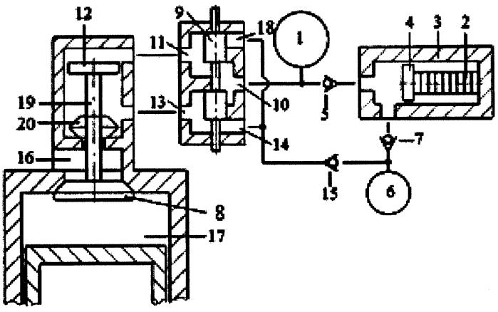 Способ зарядки гидроаккумулятора системы привода газораспределительного клапана двигателя внутреннего сгорания пьезонасосом