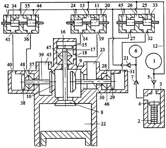 Способ зарядки гидроаккумулятора системы привода трёхклапанного газораспределителя двигателя внутреннего сгорания пьезонасосом