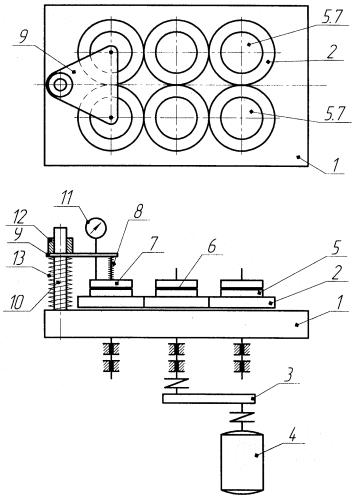 Устройство для притирания клапанов тормозного компрессора