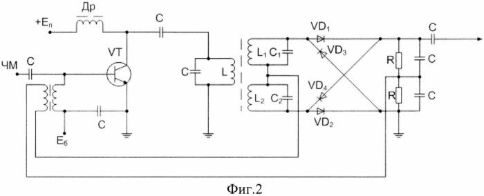 Частотный демодулятор на расстроенных контурах
