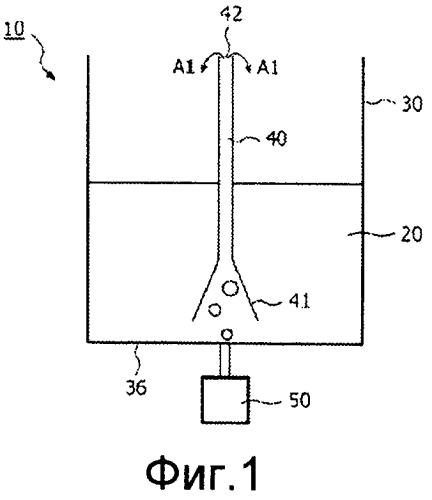 Способ и система для переноса растворителя и устройство, использующее упомянутую систему