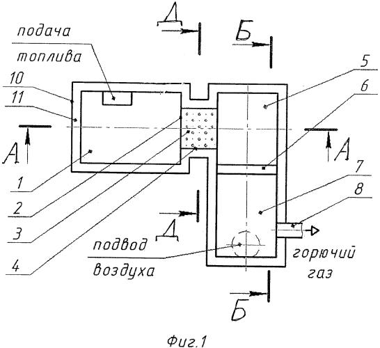 Способ вихревой газогенерации и/или сжигания твердых топлив и устройство для его реализации