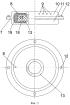 Устройство для изготовления полиуретановой шины с наполнителем из вспененного полиуретана