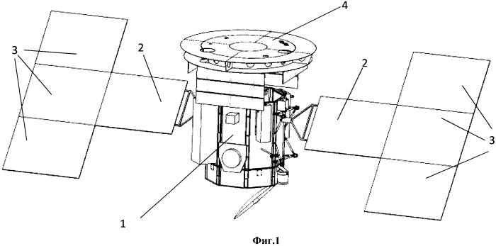 Космический аппарат для проведения исследований при наличии солнечных потоков повышенной плотности