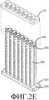 Батарея трубчатых твердооксидных топливных элементов и устройство топливных элементов, инкорпорирующее такую батарею