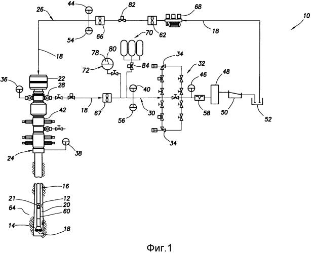Способ управления давлением в стволе скважины при бурении с оптимизацией давления