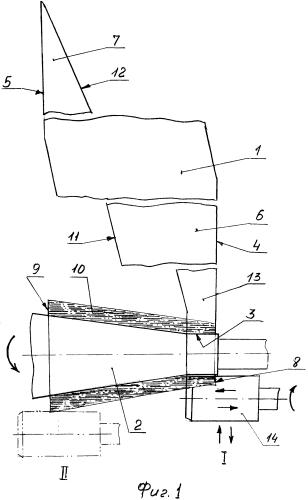 Способ изготовления малогабаритных изделий с небольшой конусностью из композиционных материалов и устройство для его осуществления