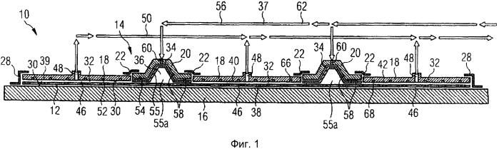 Формовочный инструмент для изготовления усиленных волокнами деталей