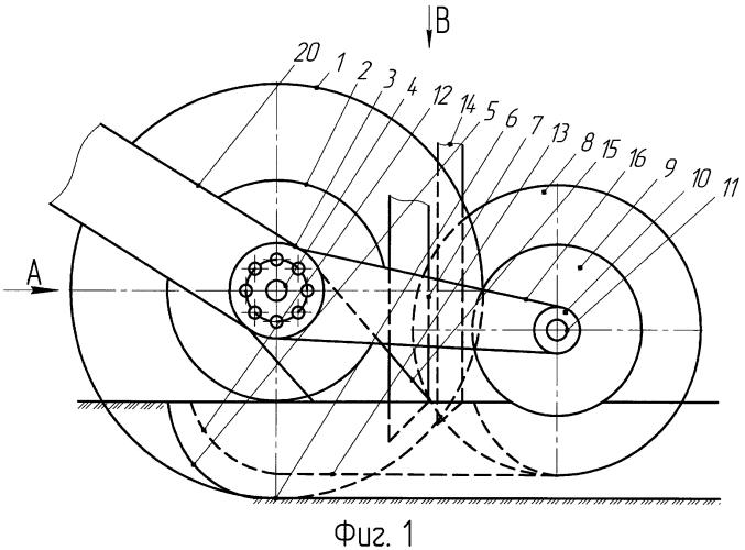 Комбинированный однодисковый сошник