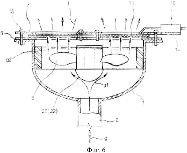 Вентиляторная металловолоконная газовая горелка