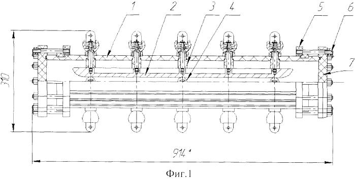 Многоканальный рельсовый разрядник