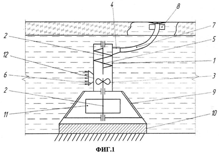 Способ ослабления ледового монолита рек и устройство для его реализации