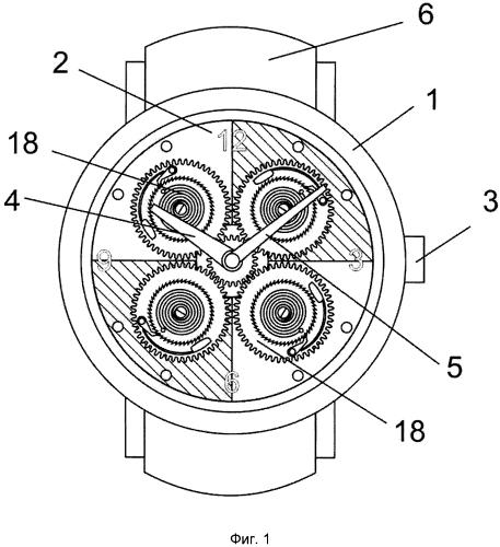 Часы и часовой механизм с термочувствительным приводом