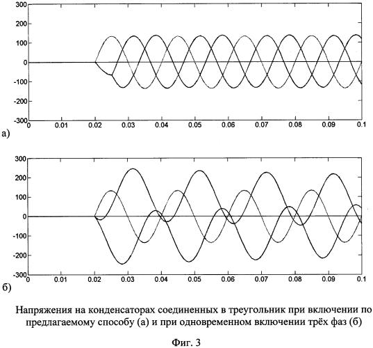 Способ включения конденсаторов