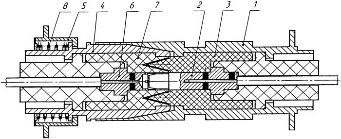 Высоковольтный электрический соединитель