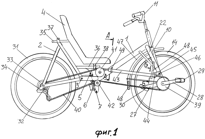 Велосипед рикамбент
