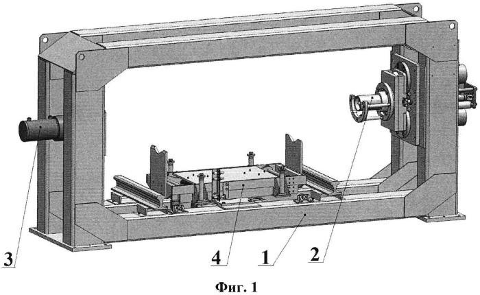 Установка для холодной напрессовки подшипникового узла железнодорожной колесной пары