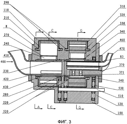 Роторный двигатель и его роторный узел