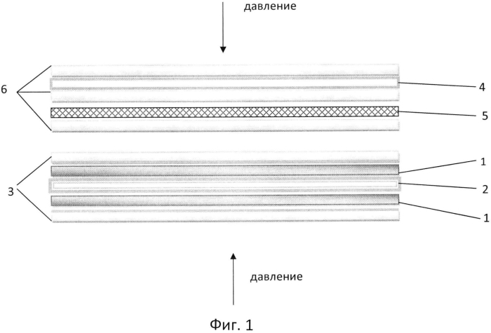 Способ изготовления многослойного пленочного контактного датчика