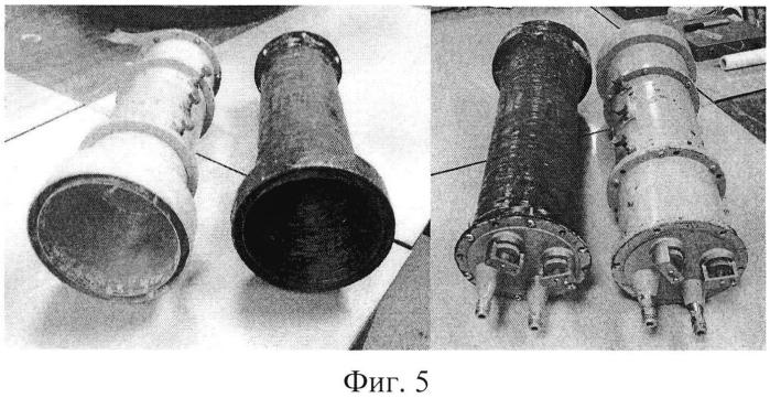 Антенно-фидерное свч-устройство из углекомпозитного материала и способ его изготовления
