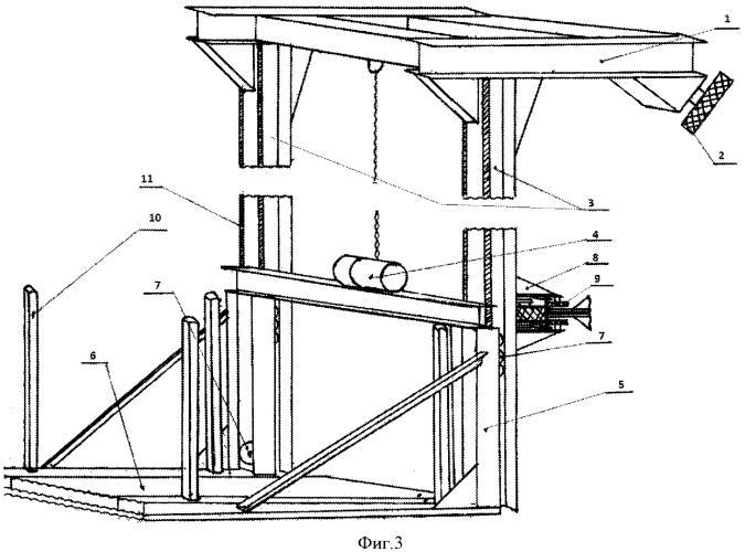 Горизонтальная платформа для перемещения автомобилей в многоэтажных гаражных боксах