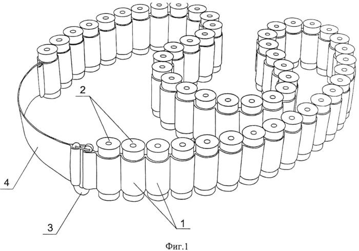 Способ изготовления патронной ленты и патронная лента, полученная этим способом