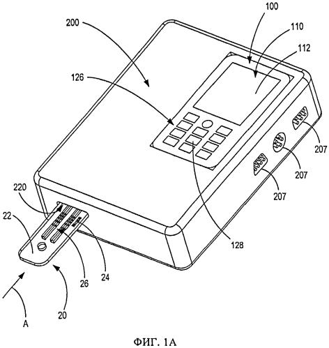 Портативный диагностический прибор и способ его применения с электронным устройством и диагностическим картриджем при диагностическом экспресс-исследовании
