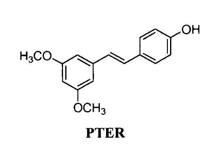 Птеростильбен (pter) для применения в профилактике и/или лечении кожных заболеваний, повреждений или травм