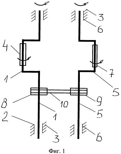 Тренажер-тандем для ускоренного развития плечевого пояса