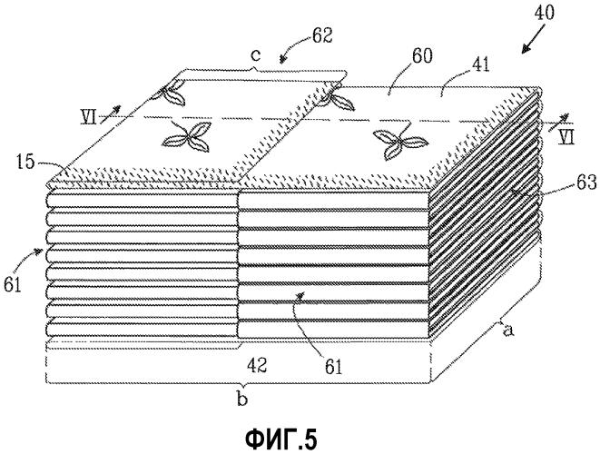 Взаимно сложенные салфетки и способ взаимного складывания салфеток