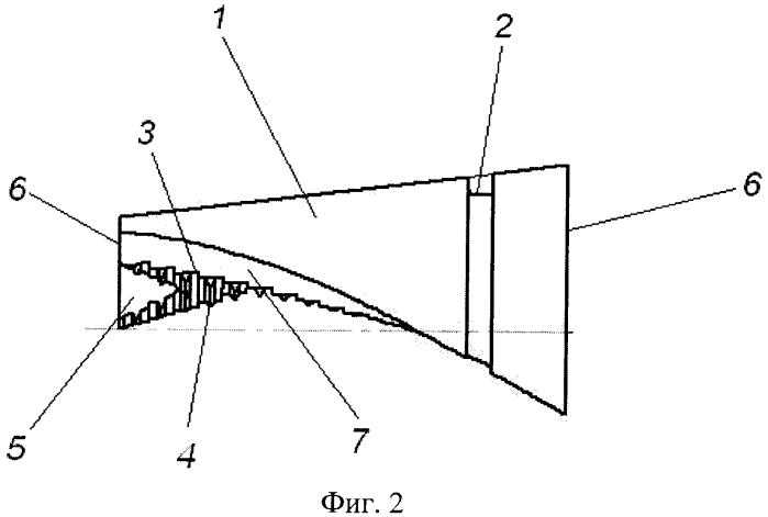 Анкерный клин цангового зажима для арматурных канатов трехгранного сечения