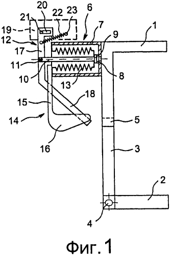 Переключающее устройство среднего напряжения, содержащее вакуумный картридж