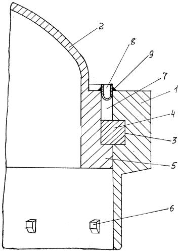 Бесфланцевое соединение с уплотнительной мембраной