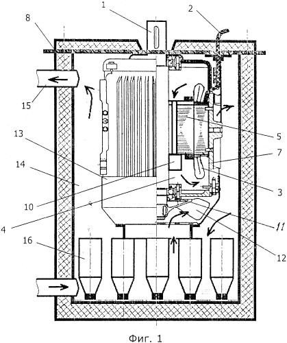 Магнитомеханический бойлер, магнитная жидкость для управляемого энергообмена в магнитомеханическом бойлере и применение магнитной жидкости в качестве среды энергообмена в объектах теплоэнергетики
