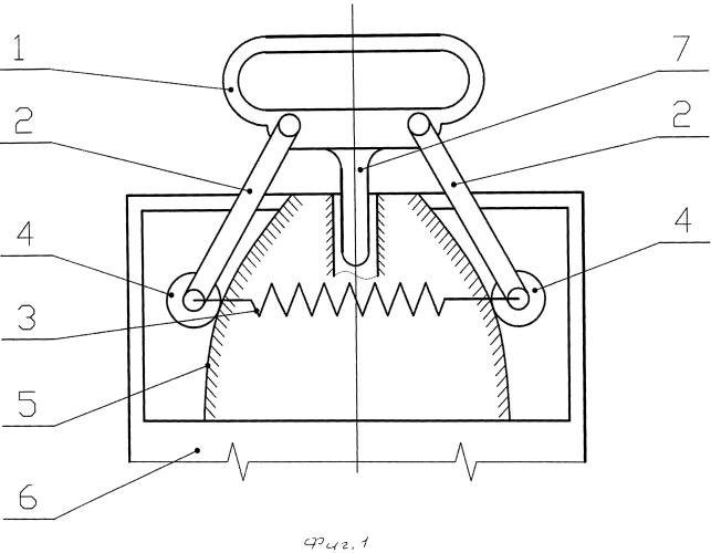Виброзащитная рукоятка отбойного молотка