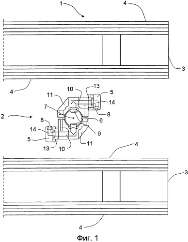 Устройство, содержащее компактное распыляющее сопло, для очищения фильтровальной ткани в дисковом фильтре
