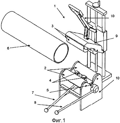 Станок для резания и обработки на конус пластиковой трубы