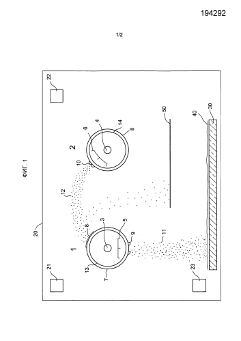 Улучшенный способ совместного распыления сплавов и соединений с использованием двойной с-mag конструкции катода и соответствующая установка