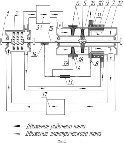 Устройство охлаждения лопаток турбины газотурбинной установки